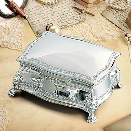 - Center Gifts Personalized Figaro Rectangular Jewelry Box Custom Photo/Quote Printed