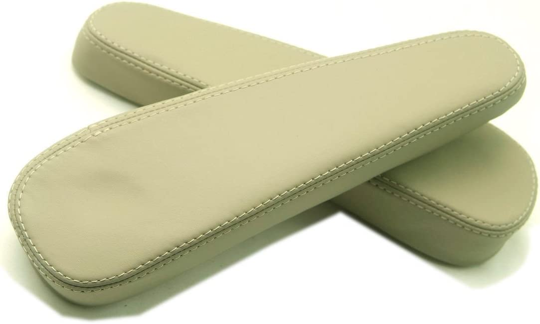 Fits 98-07 Lexus LX470 Gray Real Leather Seat Armrest Covers Set