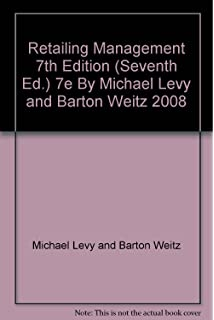 Amazon retailing management 9780073381046 michael levy retailing management 7th edition seventh ed 7e by michael levy and barton weitz fandeluxe Images