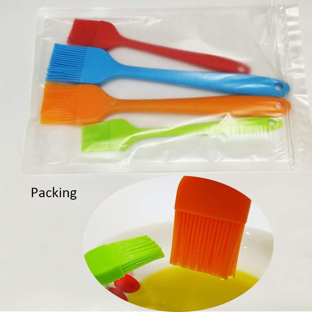 Amazon.com: Pincel de silicona, pincel para repostería de ...