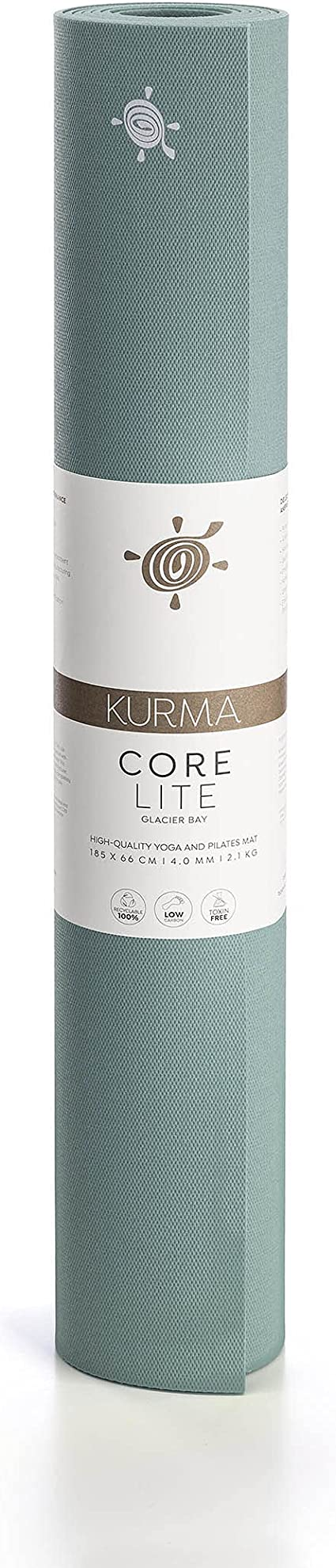 Yogamatte KURMA COLOR LITE GRIP XL 200 x 66 x 0,42 cm