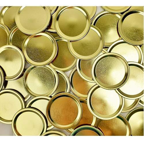 Bulk Regular Gold Canning Flat Lids, 348/pkg.