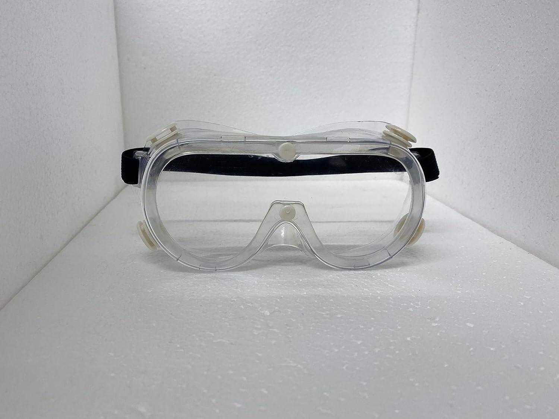 Gafas protectoras de seguridad médicas anti saliva/niebla/flúido protección ocular gafas