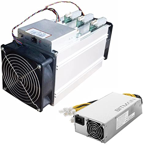Amazon Com Bitmain Antminer V9 4th S Asic 16nm Bitcoin Btc Miner With Power Supply Apw7 Computers Accessories