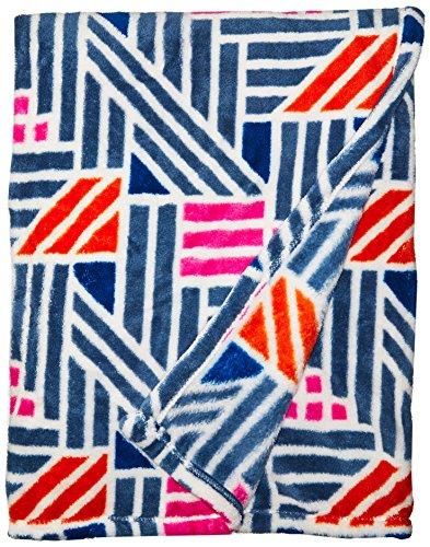 Vera Bradley Fleece Travel Blanket, geo medallions