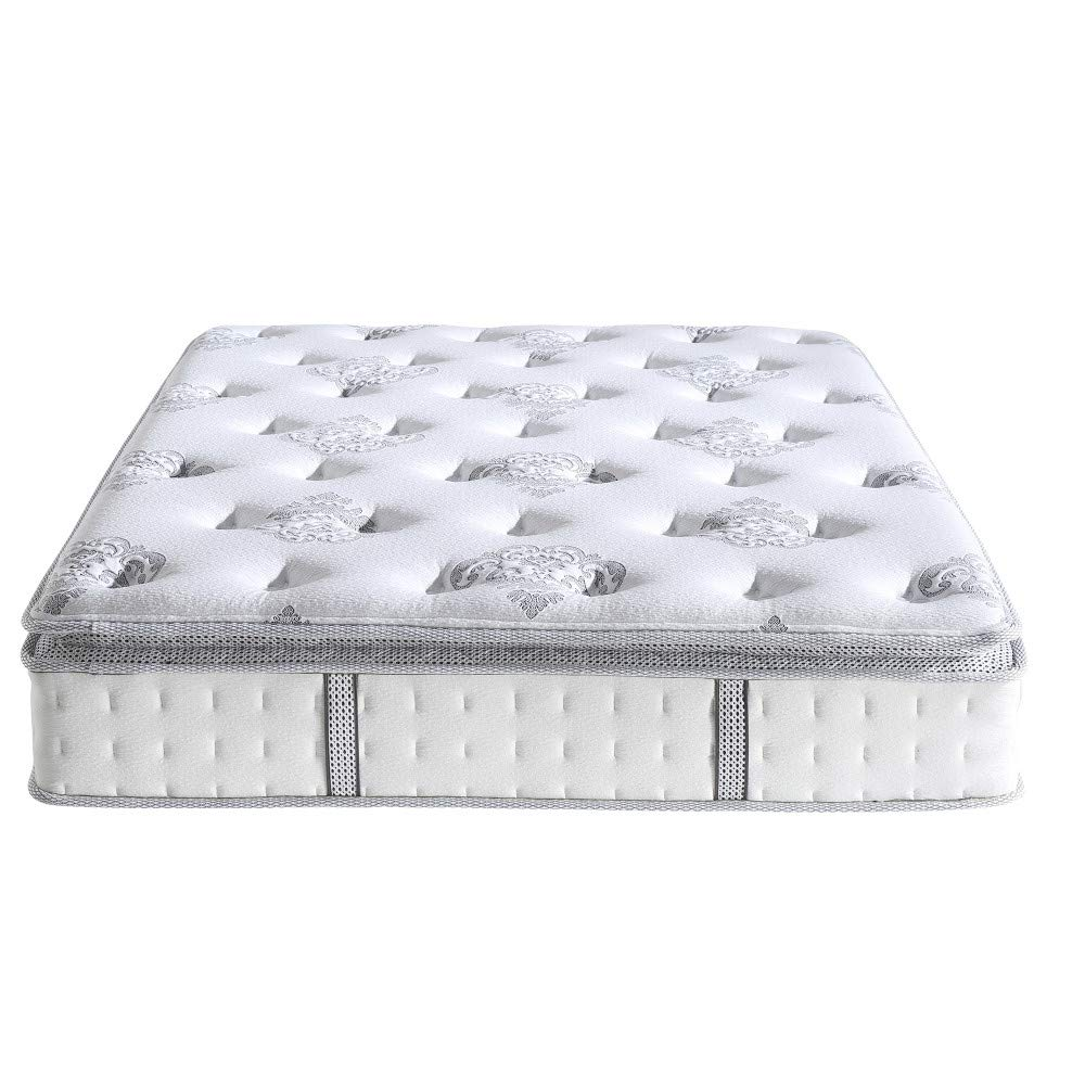 Twin XL Classic Brands Mercer Pillow-Top Cool Gel Memory Foam and Innerspring Hybrid 12-Inch Mattress 413009-1120