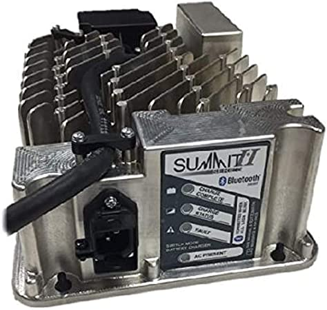 Lester Summit Series II Battery Charger 650W 36/48V with E-Z-GO TXT 36V PowerWise 2-Pin Plug with 8.5 Ft. DC Cord