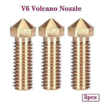 PoPprint V6 Volcano Nozzle - Kit de actualización para filamento ...