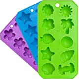 Chef Craft Ice Cube Tray, Assorted Shapes