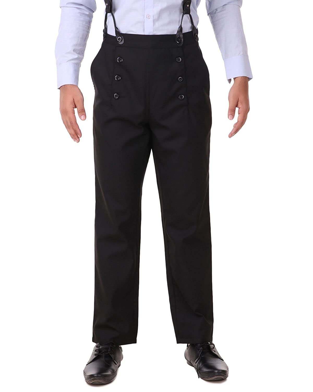 Men's Vintage Pants, Trousers, Jeans, Overalls ThePirateDressing Steampunk Victorian Cosplay Costume Architect Mens Pants Trousers $45.33 AT vintagedancer.com