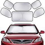 Full Car Sun Shade Folding Silvering Reflective Car Window Sun Shade Visor Shield Cover