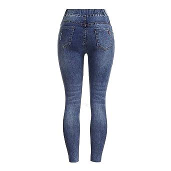 RISTHY Premamá Vaqueros Leggings Denim Pantalones Cinturón ...