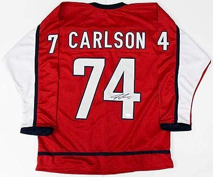 John Carlson Autographed Signed Washington Capitals Jersey - JSA Certified b0c7c5b76