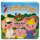 #10: 4 Little Pigs: Padded Board Book (Little Bird Stories)