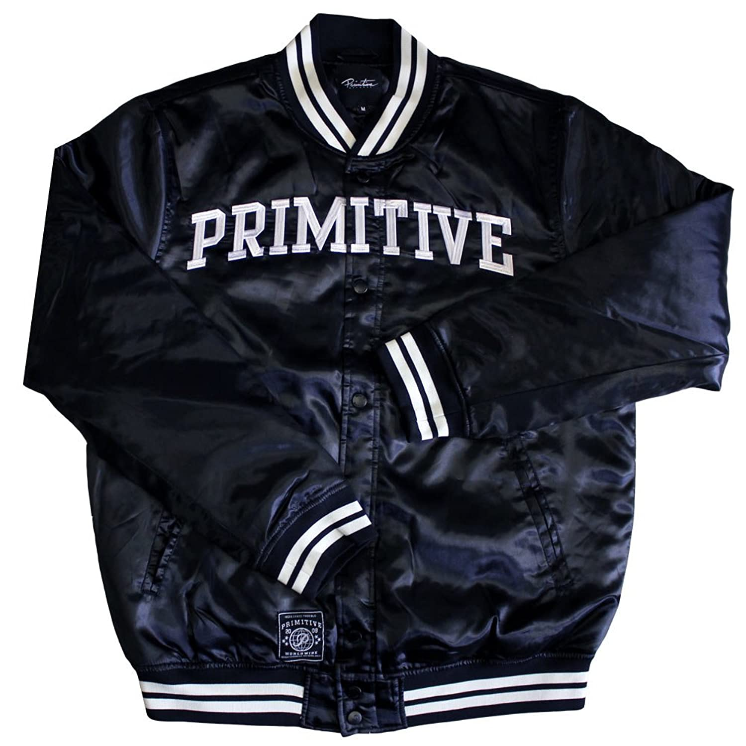 Primitive Apparel Rival Satin Jacket Black
