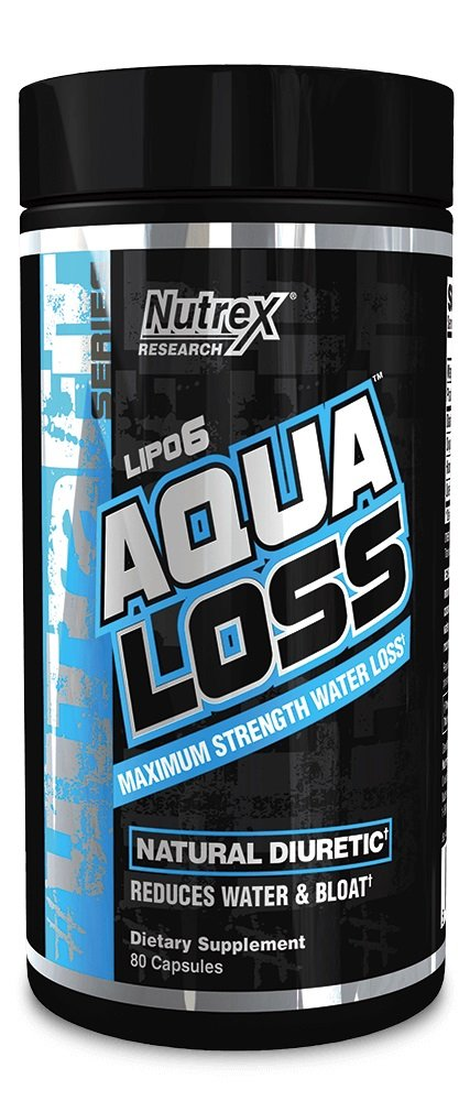 Nutrex Research Aqua Loss, 80 Count by Nutrex