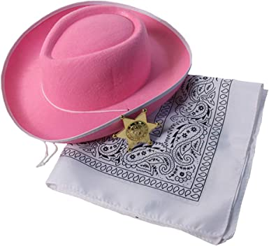 PINK /& SILVER COWGIRL SHERIFFS BADGE ADULT HALLOWEEN COSTUME ACCESSORY