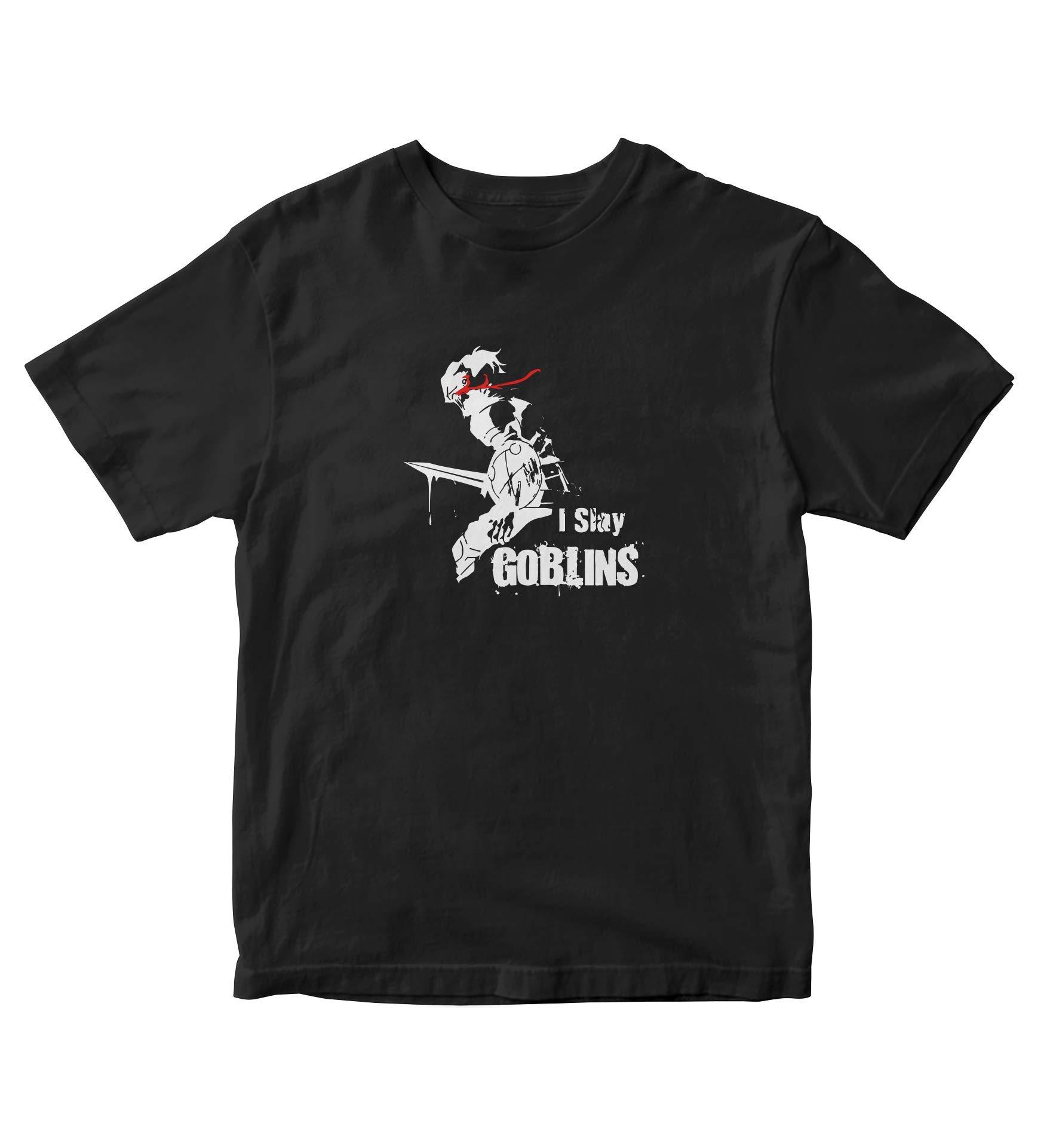 I Slay Goblins Goblin Slayer T Shirt Adult S Anime Manga A670