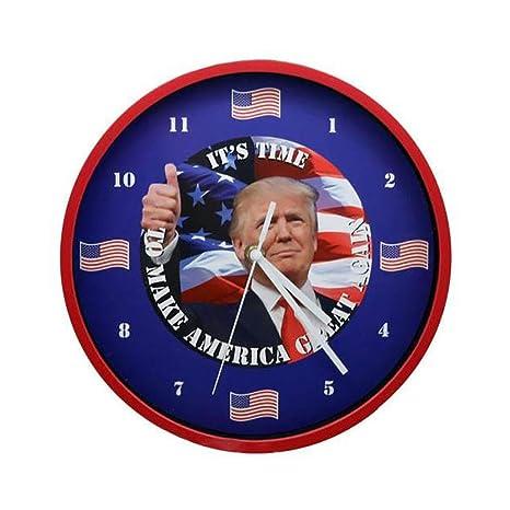 Home Innovations Trump Presidente reloj parlante.let s hacer la América gran nuevo.