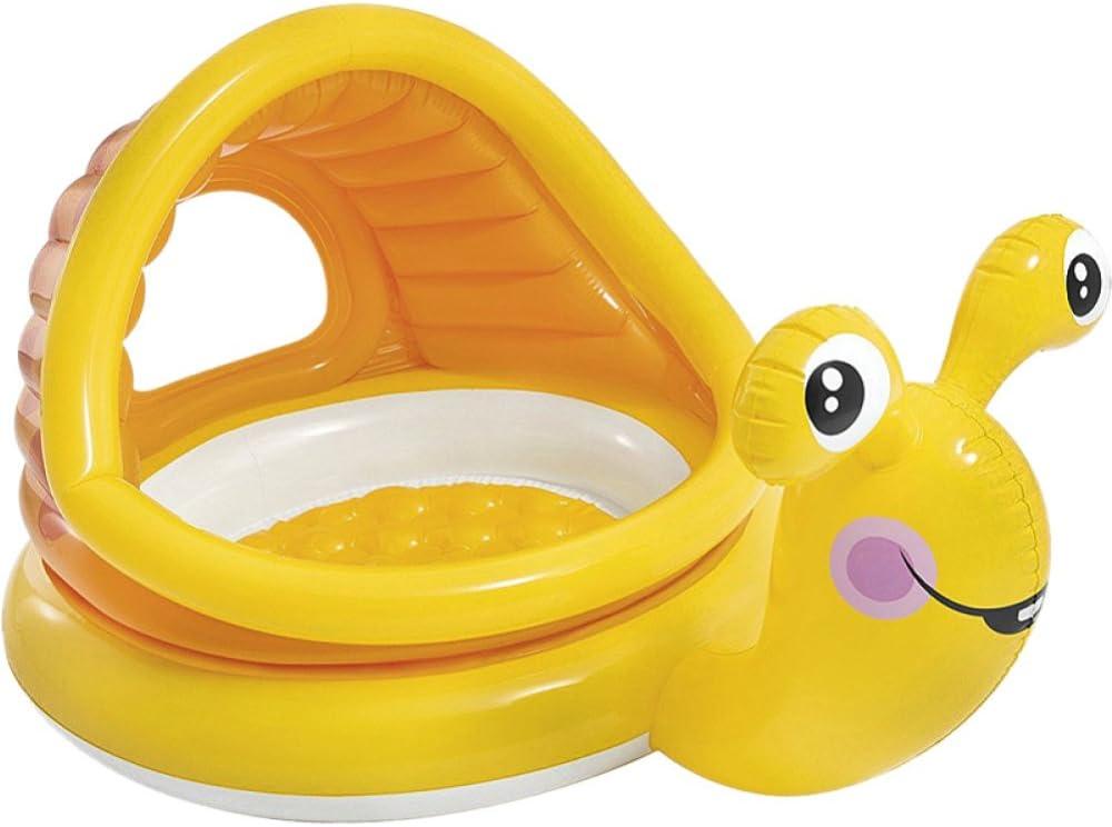 FAFY 1505/5000 Baby Pool 3-Ring Piscina, Piscina para Niños, Piscina De Olas Oceánicas,Snails