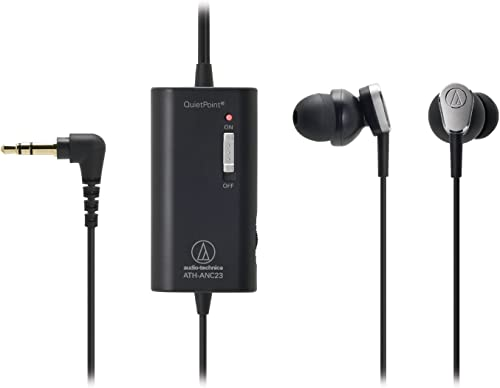 Audio-Technica Active Noise-Cancelling In-Ear Headphones