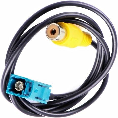 Kalakus Rückfahrkamera Video Anschluss Cinch Adapter Elektronik