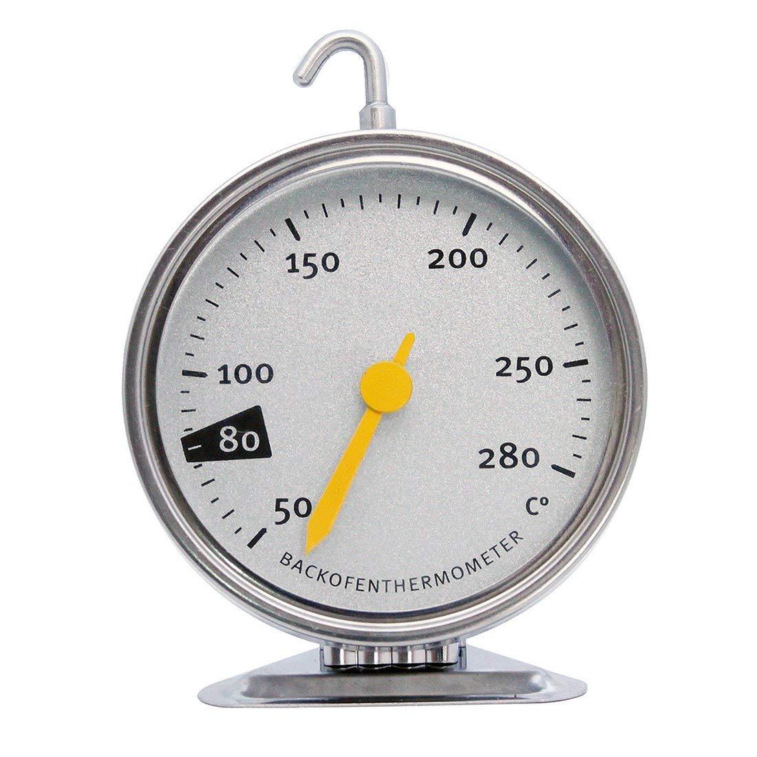 Compra vbncvbfghfgh Termómetro para Horno de Acero Inoxidable con ...