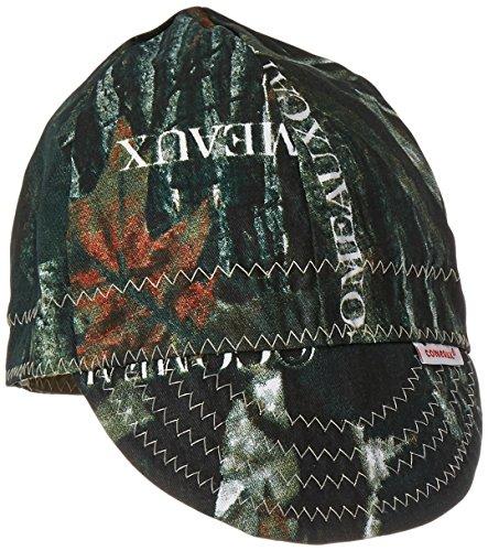 """Comeaux Caps 118-2000-C-7-3/8 Deep Round Crown Caps, 7 3/8"""", Camouflage"""