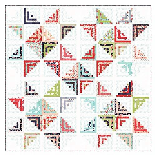 - Bonnie & Camille Smitten Sweet Escape Quilt Kit Moda Fabrics KIT55170