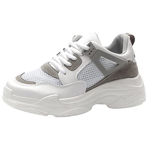 super popular 9ee32 afa24 Kivors Femme Basket Mode Chaussure Course Fitness Sport Basses Sneakers Chaussure  Air Taille 36-40