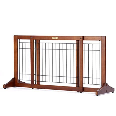 barrera seguridad Puerta De Madera Para Mascotas, Gatos Independientes Puerta Para Perros Para El Uso Interior ...