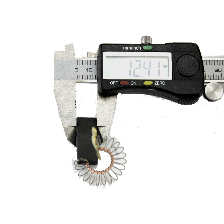 1 Paar Motorkohlen Kohleb/ürsten Ersatzteil f/ür Siemens Bosch Constructa wie 154740 00154740
