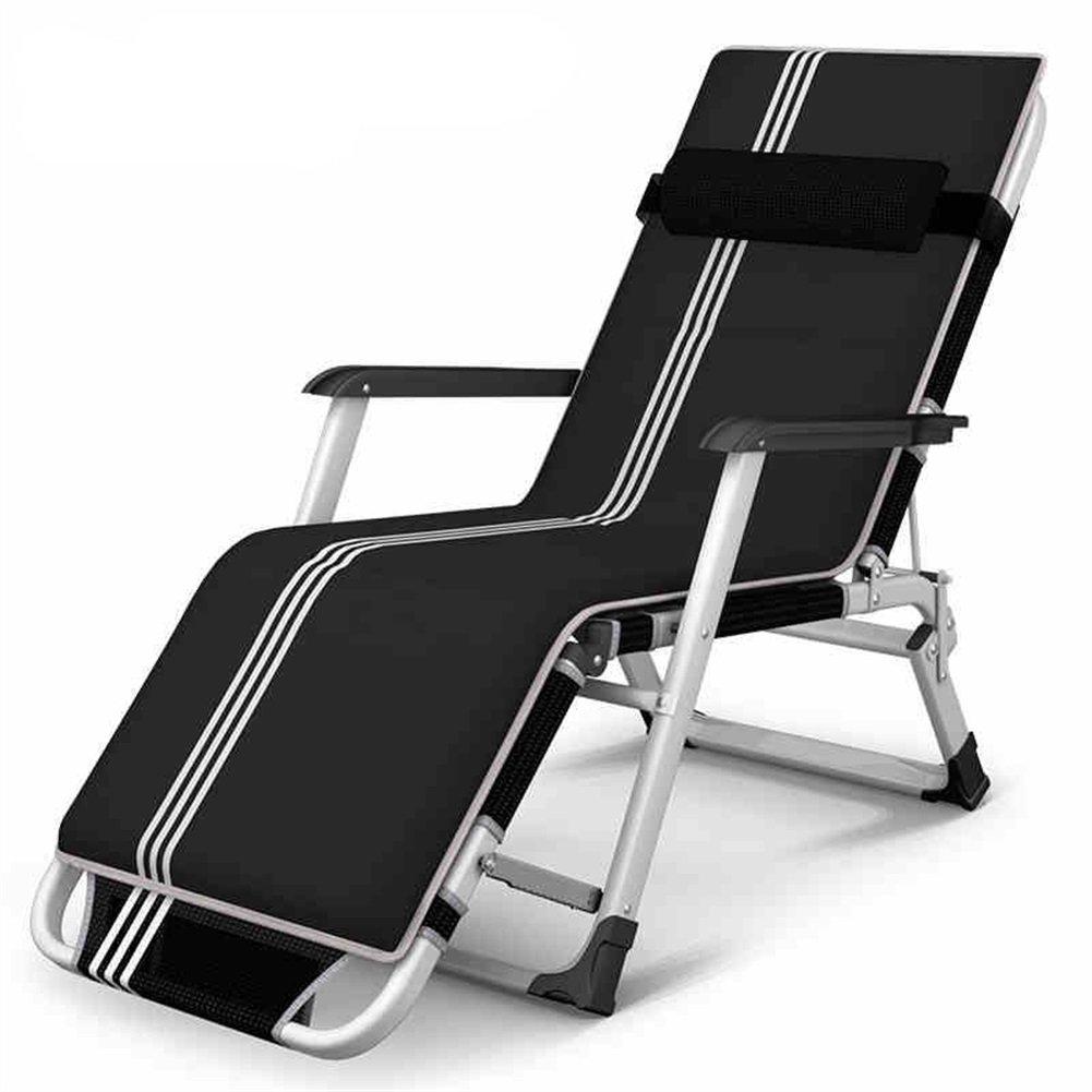 H-WJ Mode Faltbarer Schreibtischstuhl-Sommer-Büro-Haus-Strand-tragbarer Metallskelett-justierbarer Computer-Stuhl Sitz