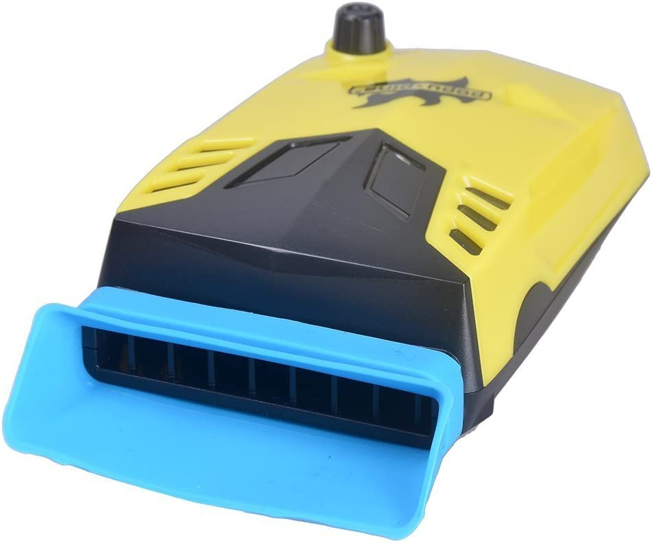 PhoneProof Mini Vacuum USB Fan Air Extracting Case Cooling Cooler, Radiator, Fan Heat Sink For Notebook Laptop (Yellow)