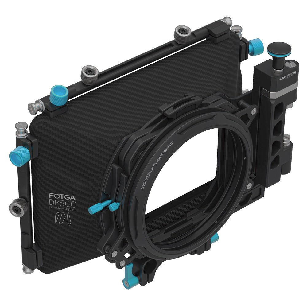 FocusFoto FOTGA DP500 Mark III Professional Metal DSLR Swing-away Matte Box Sunshade with Filter Trays for 15mm Rail Rod Rig System 5D2 5D3 A9 A7 A7R A7S II D850 GH4 GH5 BMPCC BMCC Cine Video Camera by FocusFoto (Image #4)