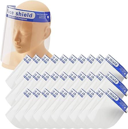 シールド マスク 併用 フェイス
