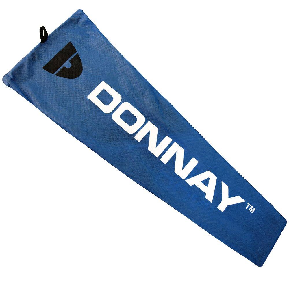 Donnay Badminton Set ✔ 2 Federballschl/äger ✔ 3 Badmintonb/älle mit Korkfu/ß ✔ inkl Transporttasche