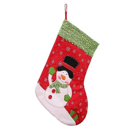 Topdo Bolsa de Regalo Navidad con Cajas de Muñeco de Nieve Lindo Portátil Gift Bag Decoración