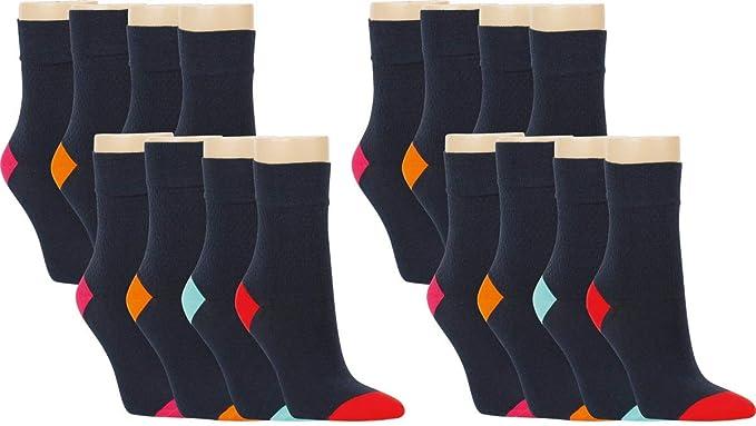 3 Paar Damen RS Harmony Bambus Socken ohne Gummi Softrand weiß 35 bis  42