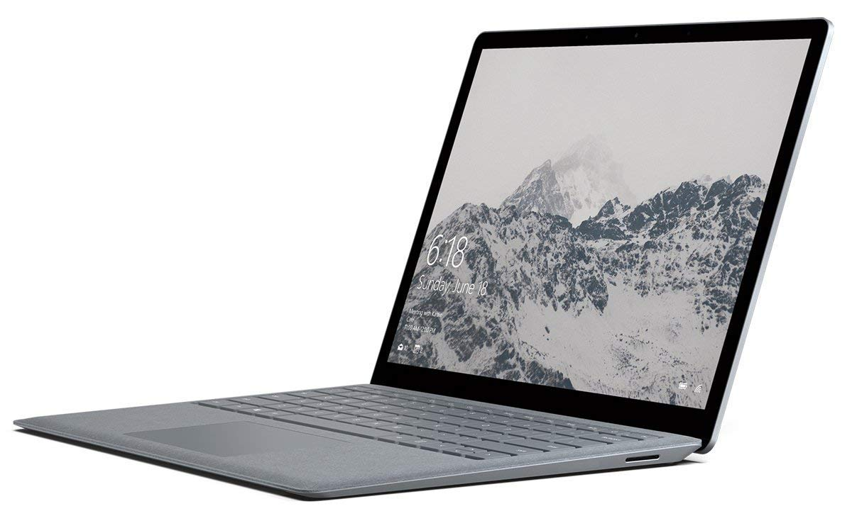 Microsoft Surface Laptop Intel Core i5 7th Gen 8GB RAM 256GB SSD Win 10 Platinum Renewed