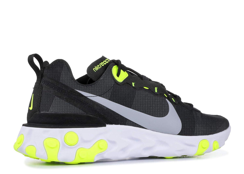 promo code 134fc eb780 Amazon.com  Nike React Element 55 Mens Bq6166-001  Fashion S