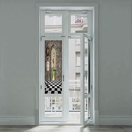 Amazon.com: ALUON Decorative Privacy Window Film,Alice in ...