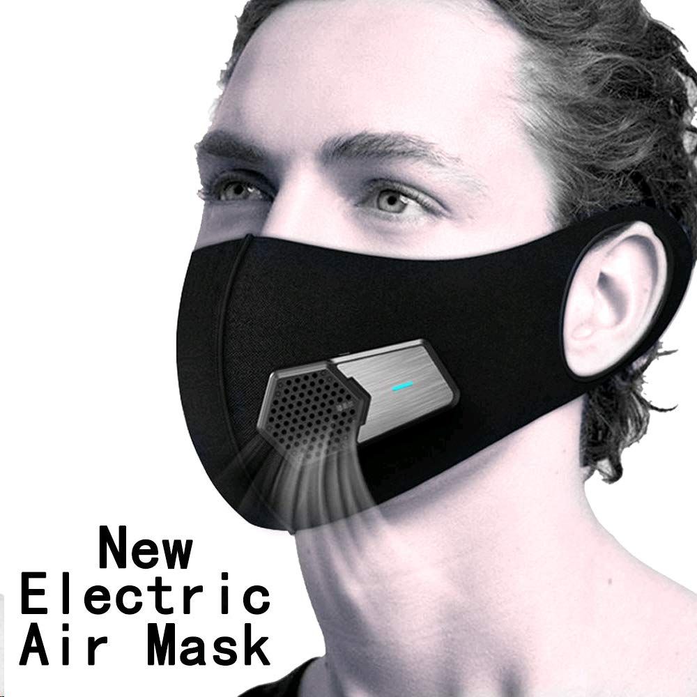 Dustproof Elecitic air masks for Allergy Activated Dust Mask with Fan Filter Cotton Sheet and Valves face masks for dust for smoke protection Exhaust Pollen PM2.5 allergies respiratory masks