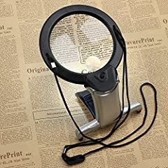 LED Magnifying Glass 2X