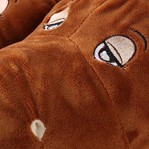 Animal Spa Upper Bedroom Aerusi House Children Plush Horse Parent Soft Home Slipper 8wxx7fqIB