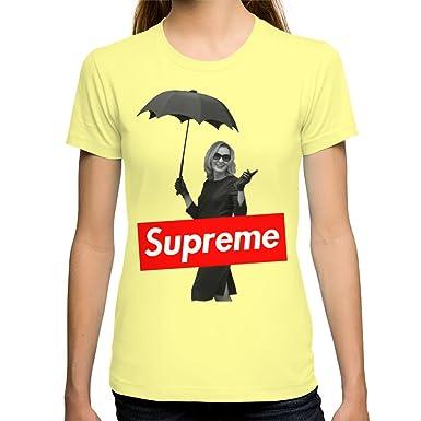 Amazon.com  Society6 Women s The Original Supreme T-Shirt X-Large ... 206bd4a2e