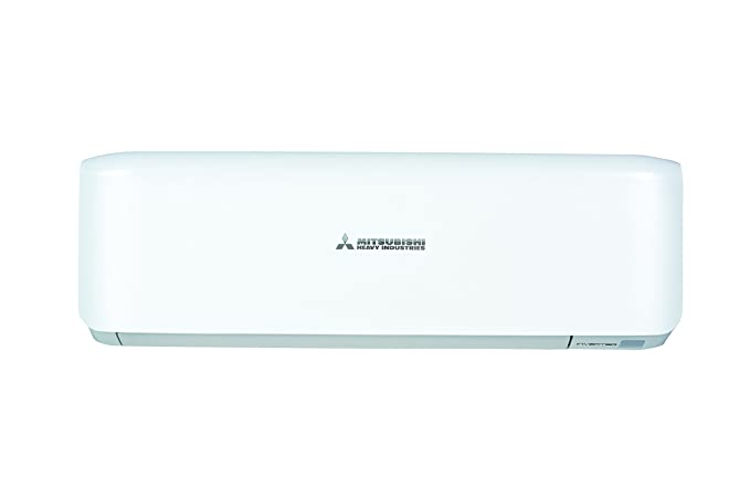split conditioner mitsubishi air system inverter electric silver