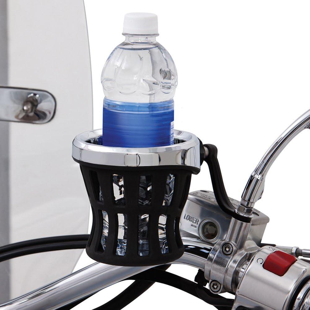 Ciro 50412 Drink Holder Chrome Mount For Harley-Davidson Models
