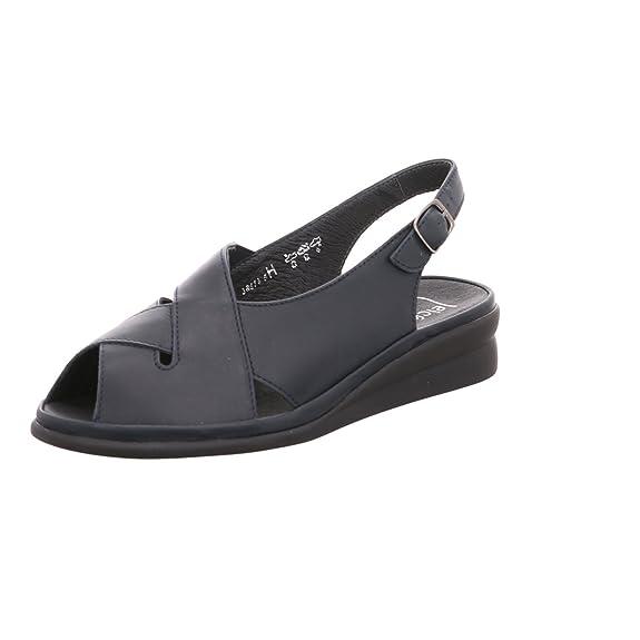 Semler Damen Sandaletten Soft-Nappa A2745012/001 schwarz 24419