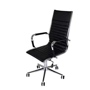 BUTIK Manhattan Chaise Haute Bureau Noir